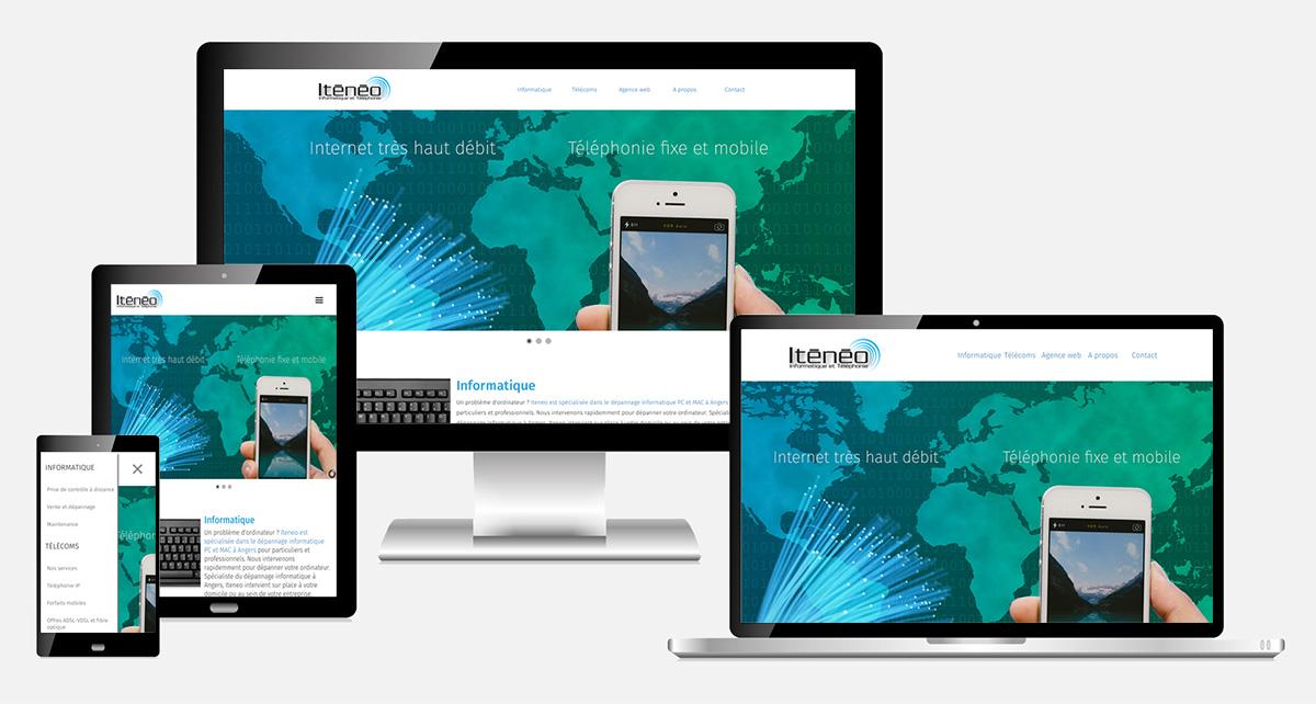 Cration De Webdesign Moderne Responsive Et Intuitif Design